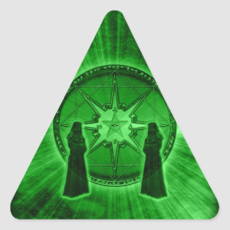 Order of Chaos Triangle Sticker