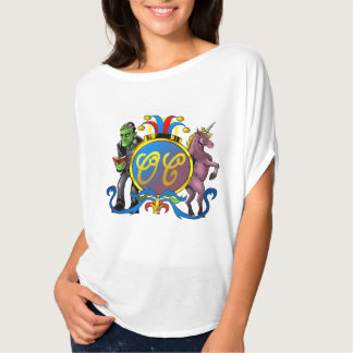 Order of Cockscomb Opal Coat of Arms Flowy T-Shirt
