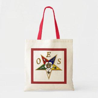 Order Of Eastern Star Budget Tote Bag