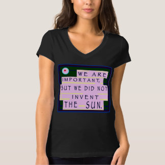 Order Of Importance © 2013 James Warren T-Shirt
