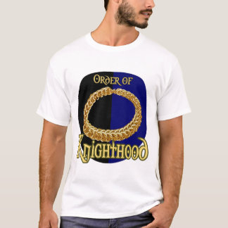 Order of Knighthood Crest (ZAZZLE Ed) T-Shirt