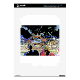Order of LaShe's Grand Marshall Stagecoach Decal For iPad 3