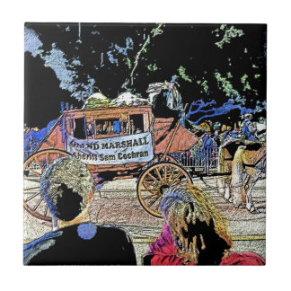 Order of LaShe's Grand Marshall Stagecoach Tile