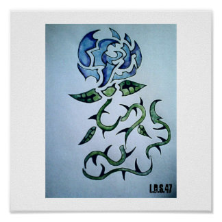 Order of the Blue rose Poster
