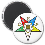 Order of the Eastern Star 2 Inch Round Magnet