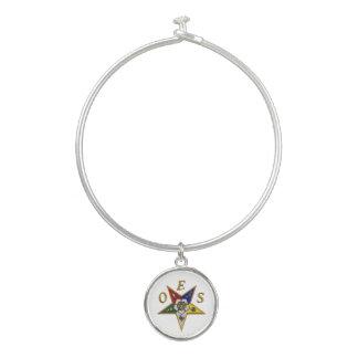 Order of the Eastern Star Bangle Bracelet