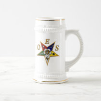 ORDER of the EASTERN STAR Beer Stein