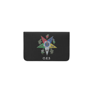 Masonic business card holders cases zazzle order of the eastern star business card holder reheart Image collections