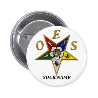 ORDER of the EASTERN STAR Button