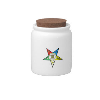ORDER OF THE EASTERN STAR CANDY JAR