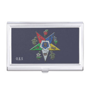 Women business card holders cases zazzle order of the eastern star case for business cards reheart Image collections