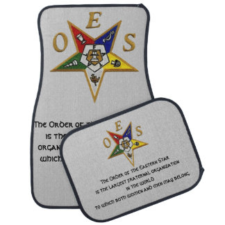ORDER of the EASTERN STAR CUSTOM CAR MATS Floor Mat