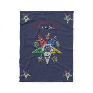Order Of The Eastern Star Fleece Blanket