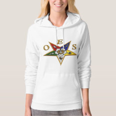 Order Of The Eastern Star Hoodie at Zazzle