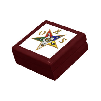 ORDER of the EASTERN STAR Jewelry Boxes