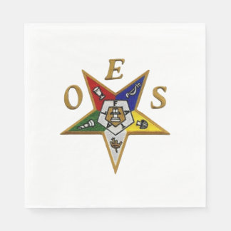 ORDER of the EASTERN STAR LUNCHEON NAPKINS