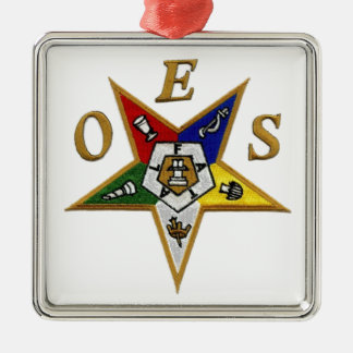 ORDER of the EASTERN STAR Metal Ornament