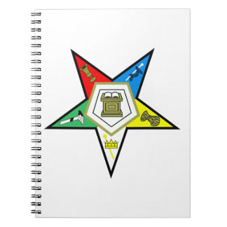 ORDER OF THE EASTERN STAR SPIRAL NOTE BOOKS