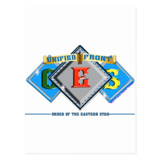 Order of the Eastern Star OES Postcard