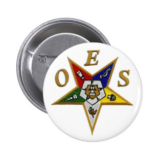 ORDER of the EASTERN STAR Pinback Button