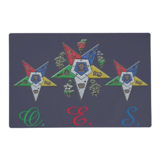 Order Of The Eastern Star Placemat
