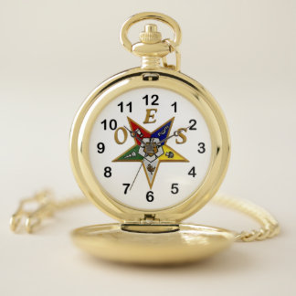 Order of the Eastern Star Pocket Watch