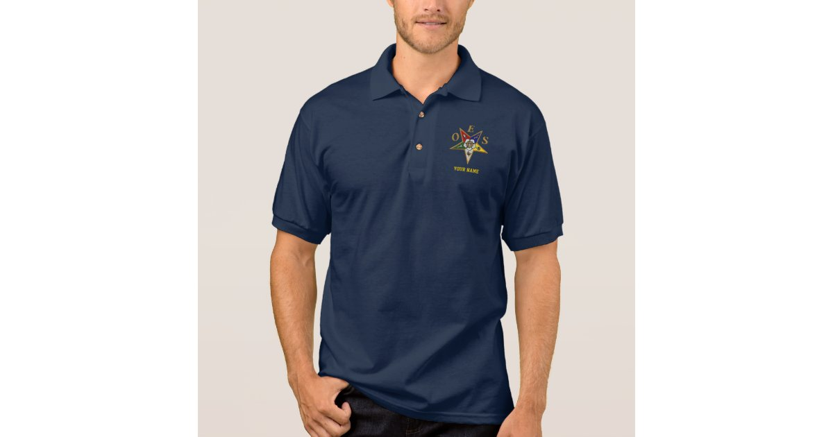 Order of the Eastern Star Polo Shirt Short Sleeve