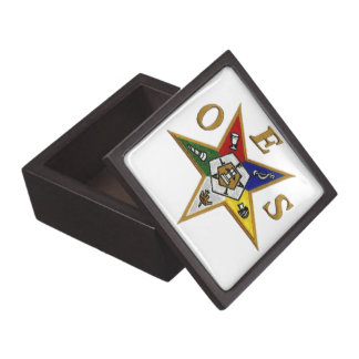 ORDER of the EASTERN STAR Premium Jewelry Boxes