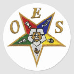 ORDER of the EASTERN STAR Stickers