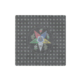 Order Of The Eastern Star Stone Magnet