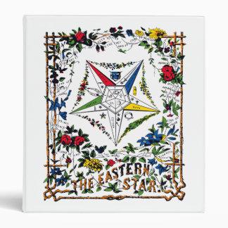 Order of the Eastern Star Vintage Signet Binder