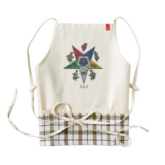 Order Of The Eastern Star Zazzle HEART Apron