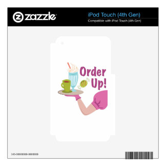 Order Up! iPod Touch 4G Skins
