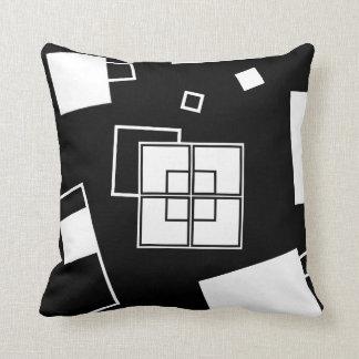 Order vs. Chaos Abstract Pillow