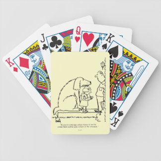Ordering Cookies Bicycle Playing Cards