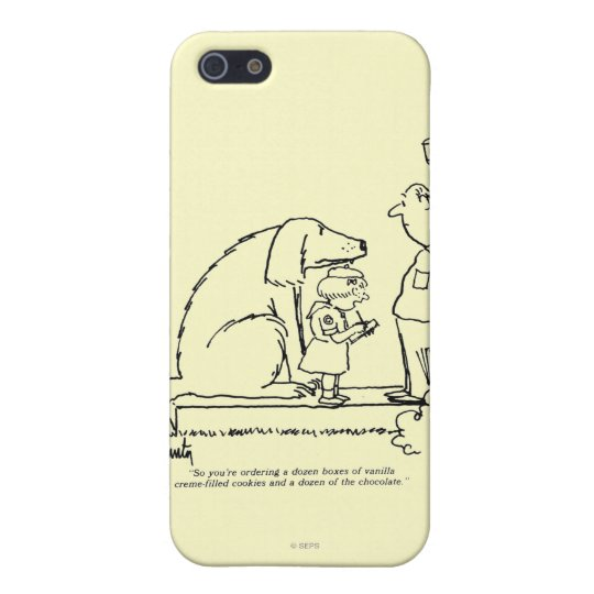 Ordering Cookies iPhone SE/5/5s Cover