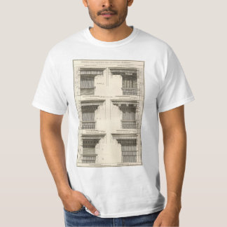 Orders of Architecture, Vintage Entablatures T-Shirt