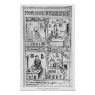 Ordinance of the Bakers of York, 1595-96 Poster