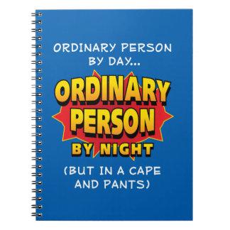 Ordinary Superhero Note Book