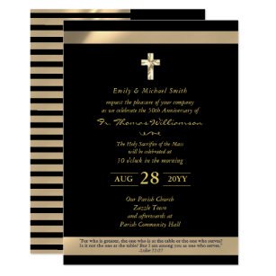 65th religious invitations zazzle