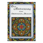 Ordination Anniversary to Deacon Cross in Colors Cards