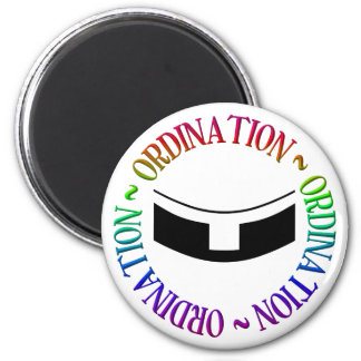 Ordination - Holy Orders 2 Inch Round Magnet