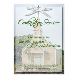 Ordination Invitations Announcements Zazzle