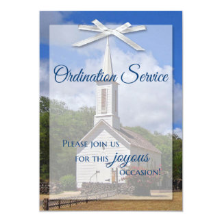 Ordination Invitation