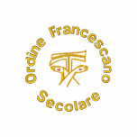 Ordine Francescano Secolare - Secular Franciscans Embroidered Polo Shirt