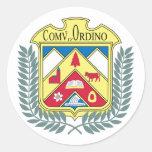 Ordino, Andorra Pegatinas Redondas