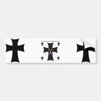 Ordo domus Sanctae Mariae Theutonicorum Bumper Sticker