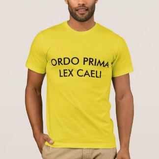 ORDO PRIMA LEX CAELI CAMISIA PLAYERA