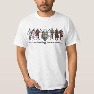 Ordo Teutonicus Shirt con caballeros Playera