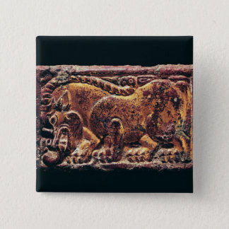 Ordos style plaque, 3rd-2nd century BC Pinback Button